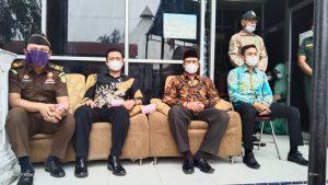 MS. Langsa Mengikuti Pembinaan Pimpinan MS. Aceh  Kepada Mahkamah Syar'iyah Se-Aceh Melalui Virtual Meeting