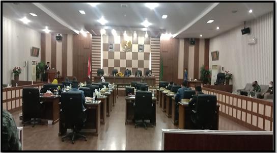 Hakim MS. Langsa Menghadiri Rapat Paripurna DPRK Ke-2  Kota Langsa Tahun 2021