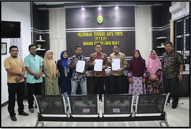 Lagi, Mediasi Kembali Berhasil Oleh Hakim Mediator MS. Langsa