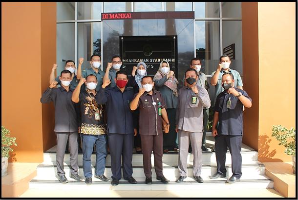 Peringatan HUT Dharmayukti Karini ke-XIX Cabang Langsa Serta  Pelaksanaan Bantuan Dana Beasiswa (BDBS)